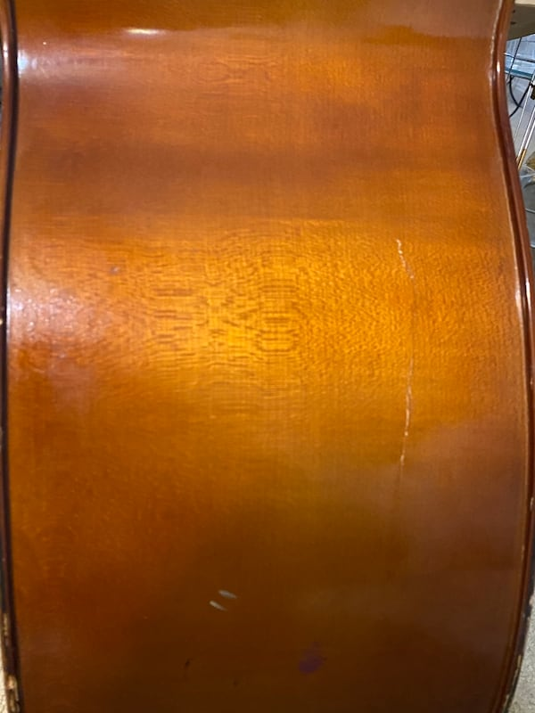 2008 Franz Hoffman Double Bass w a Glasel 3/4 Bass bag 9614e3ac-9138-4120-813d-23c56b94b93a