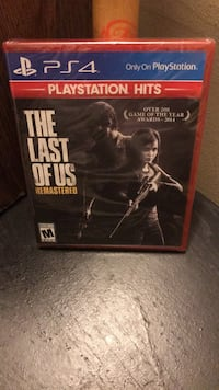 The Last Of Us: ReMastered(PS4) Hyattsville, 20785