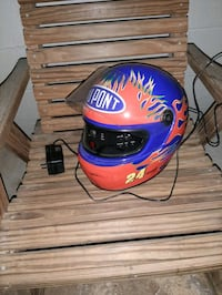 Jeff gordan helmet radio