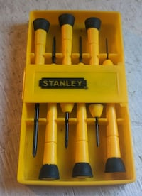 Stanley 6pc Precision Screwdriver Set Calgary, T3H 1G3