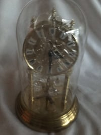 Glass dome clock