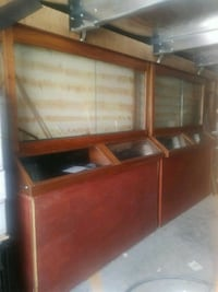 2 large display cases 300 firm Bakersfield, 93308