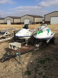 Jet ski. 2. With trailer. Weatherford, 73096
