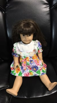 Girl's white and green floral dress Vernon Hills, 60061