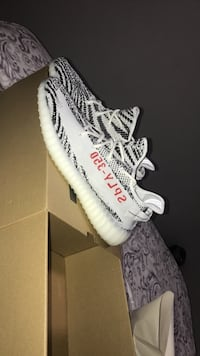 2afa3ce5162ac Used pair of Orea Adidas Yeezy Boost S 350 V2 with box for sale in ...