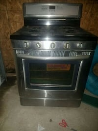 black and gray gas range oven Red Lion, 17356