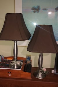 2 Stainless steel Lamp