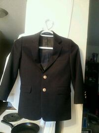 Boys dress coat with shirt with tie$20 Edmonton, T6A 3J9