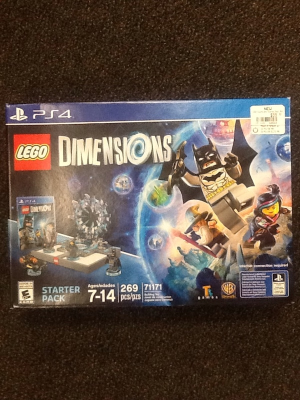 Lego dimensions PS4 starter pack 71171 ages 7-14 269 pieces brand new 82c71fd7-5605-437c-a531-24ee7cd21dd1