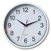 round white analog wall clock Alexandria, 22304