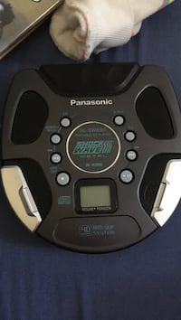 black Panasonic ShockWave metal music player Toronto, M3M 2M4