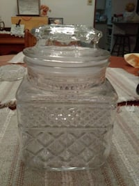 square glass jar  Goshen, 46526