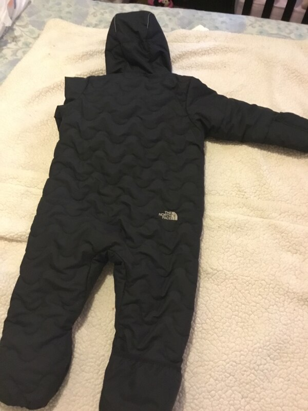 f2a06dec3 The North Face Infant Thermoball Bunting Snowsuit 18-24 month Black