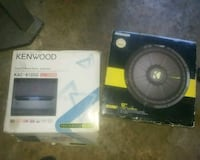 black and gray Kicker subwoofer with box Springdale, 20774