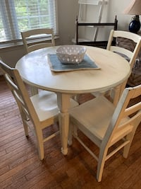 White wash wood dining table  Fairfax, 22032