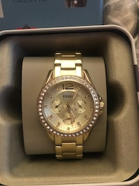 GOLD FOSSIL WITH CRYSTALS WATCH Vaughan, L4L 5L6