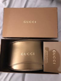 Gucci sunglasses case and box