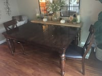 Dining table with 6 chairs and buffet Ventura, 93004