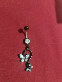 ~Butterfly Bellybutton Ring~