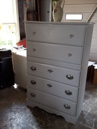 Hand painted chest of draws