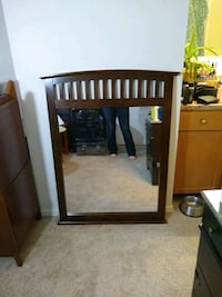 Large vanity or wall mirror