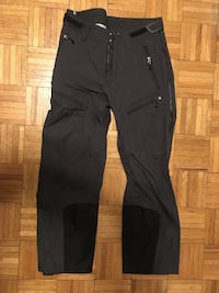 REI men's 32W x 30L EVent waterproof full zip shells with RECCO and built-in gaiters Medford