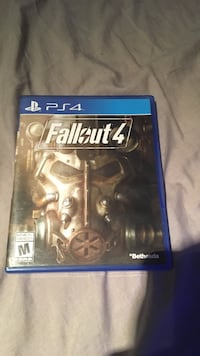 Fallout Sony PS4 game case