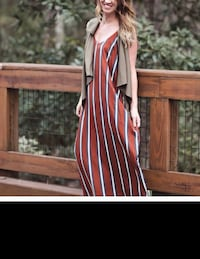 Vertical stripe without vest new daughters boutique regular price $44