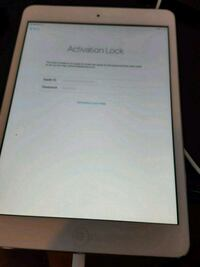 IPad 1st generation stuck on activation lock.  Port St. Lucie, 34984