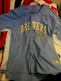 Authentic Brewers Jersey  Beloit, 53511