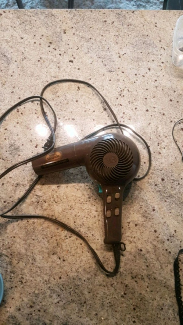Free with any purshase - blow dryer