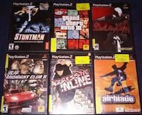 PlayStation 2 games - 2 for $5