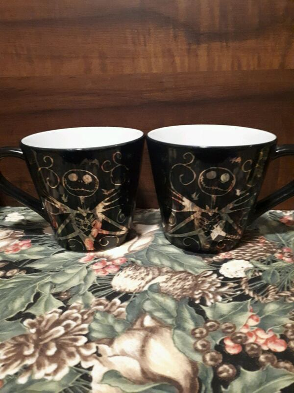 Nightmare Before Christmas mugs. 48a1d9d6-6f22-489c-8d33-09c8b717d256