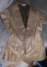Genuine leather vest.... beautiful