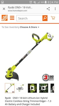 Ryobi 18v battery operated trimmer  Columbia, 29229