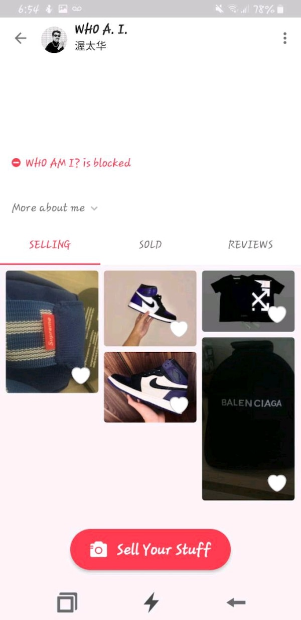 Beware Of these Guy selling Fake Items