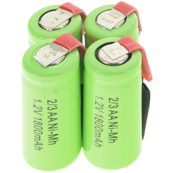 brand new Ni-MH 1.2V 2/3AA 1800mAh rechargeable batteries