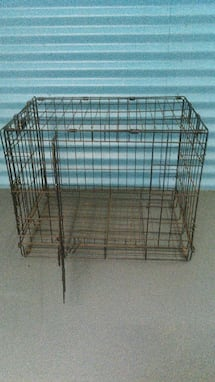 dog or cat metal cage