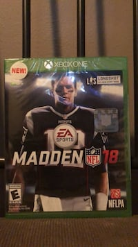 Madden nfl 18 xbox one Brand new never opened