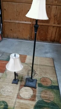 2 matching lamps, table & standing lamps San Jose, 95136