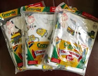 Boys Crayola 2-Piece Thermalwear Set. (Size M/M 5-6). 3 Packs Available $8 Each - BRAND NEW SEALED. See other offers Stockton, 95209