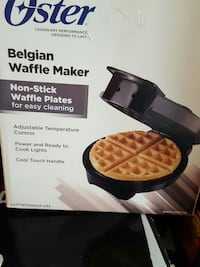 oster belgian waffle maker box Montreal, H2G 2R4