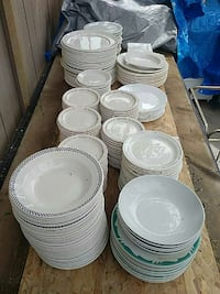 assorted ceramic dinnerware set Calgary, T2A