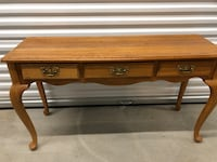 """Exquisite """"Queen Ann"""" Entry or Sofa table with 3 drawers Englewood, 80112"""
