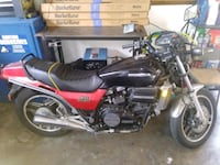 black and red standard motorcycle Whittier, 90604
