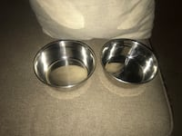 24 oz stainless steel food and water bowls Spring, 77386
