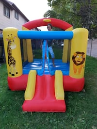 Jungle Jumping Castle Rental indoor