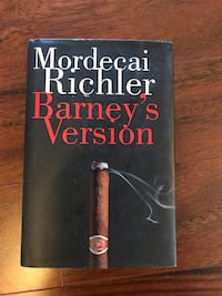 Barney's Version - hardcover Oshawa, L1K 1W8