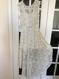 Lace Sequined White Dress Mississauga, L5B