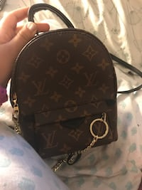 brown Louis Vuitton monogram backpack Oxon Hill, 20745